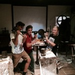 """Sensibles Blattgold digital umzusetzen ist Aufgabe des Projektes """"Spurensuche"""". In Workshops von Mona Horncastle mit Kindern und Jugendlichen wird das Thema recherchiert und medial verwandelt. - Foto: Stadt Schwabach"""