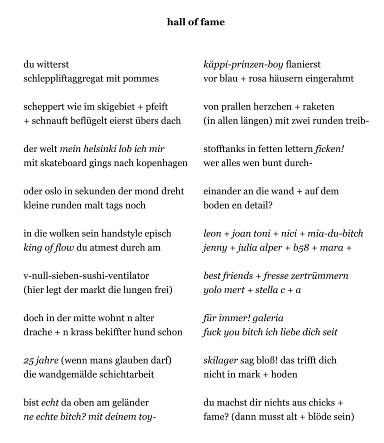 Gedicht07_hall of fame